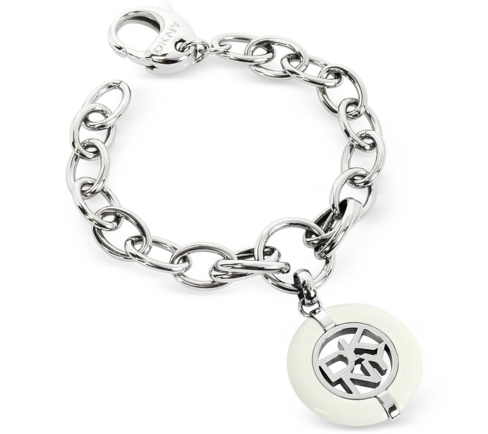 Stainless Steel Signature Bracelet - DKNY
