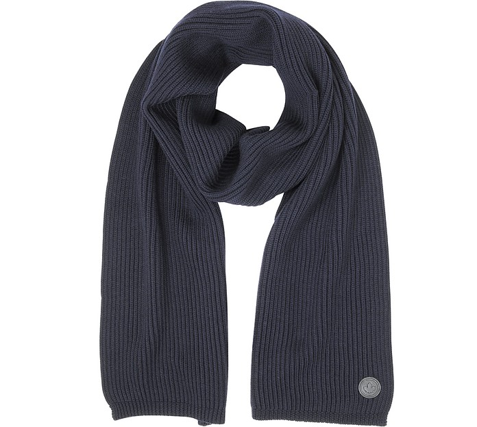 Solid Wool Knit Men's Long Scarf - DSquared2 / ディースクエアード2