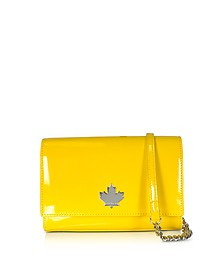 Eco Patent Leather Logo Shoulder Bag - DSquared2
