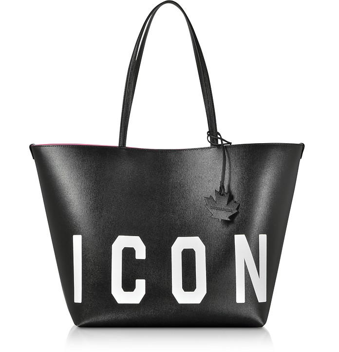 Saffiano Leather Icon Traveler Tote bag - DSquared2 / ディースクエアード2