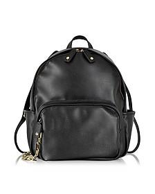 Alberta Black Backpack w/Wallet