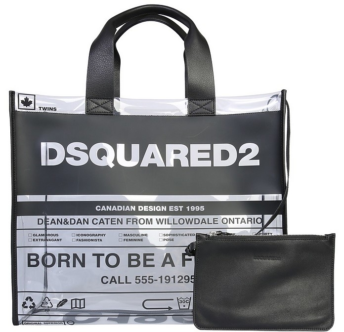 Logo Tote Bag - DSquared2