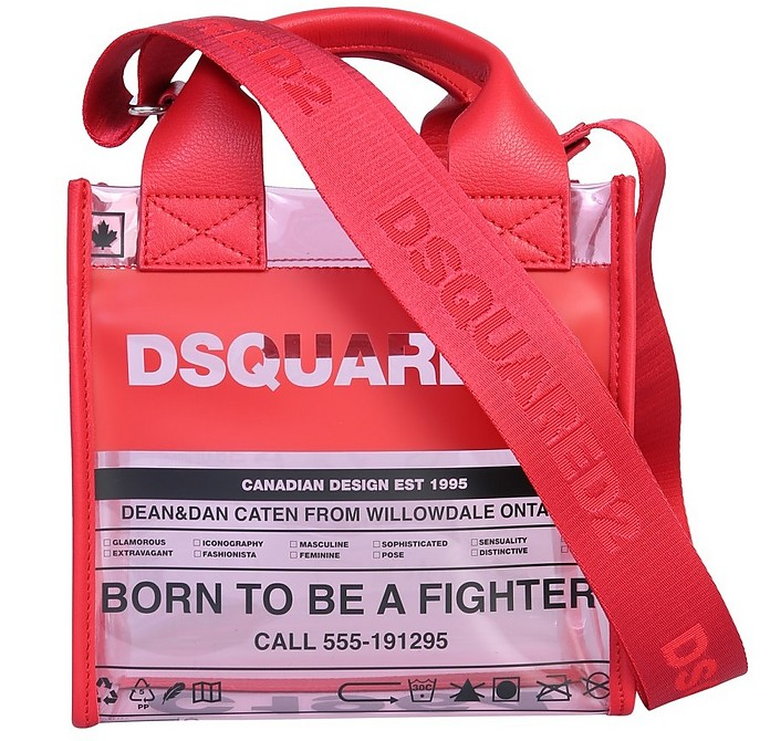 Small Shopping Bag With Logo - DSquared