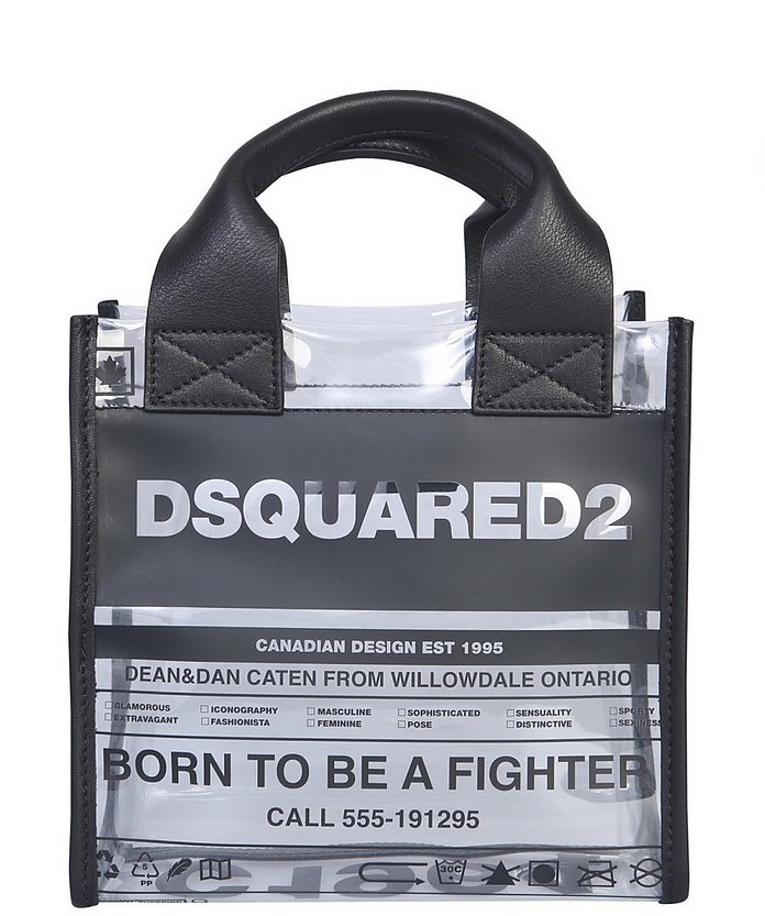 Small Shopping Bag With Logo - DSquared2
