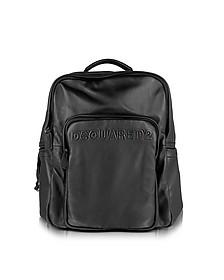 Antony Black Nappa Backpack
