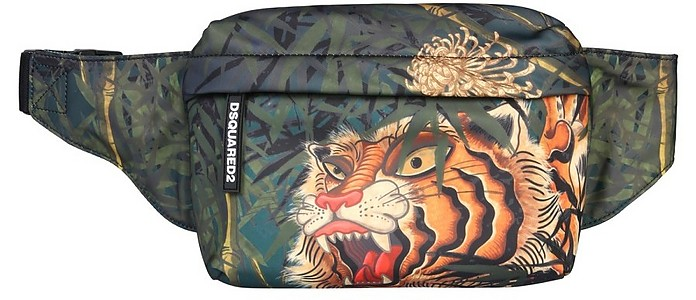 Tiger Print Pouch - DSquared2 / ディースクエアード2