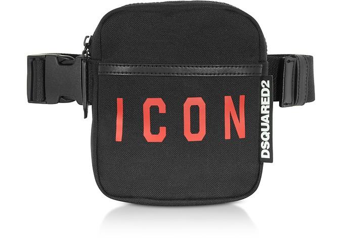 Signature Black and Red Belt Bag - DSquared2