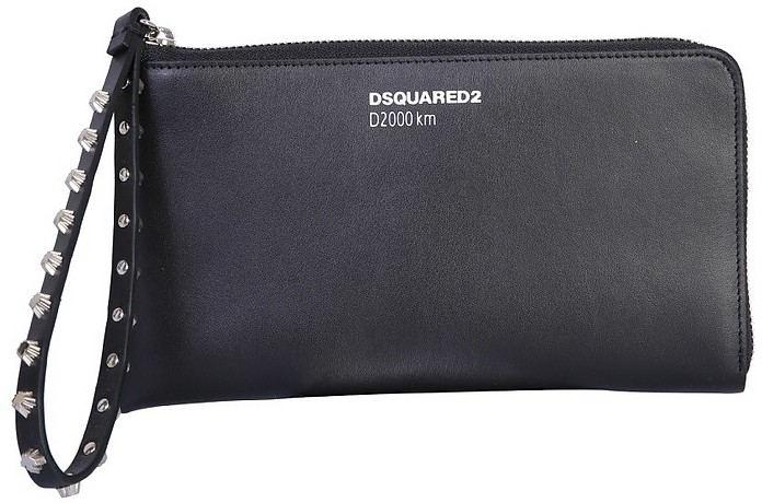 Wallet Clutch With Logo - DSquared2