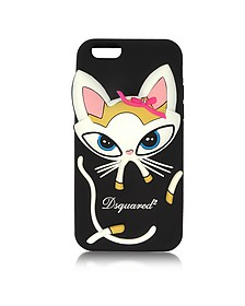 Funda para iPhone 6 de Silicona con Gato - DSquared