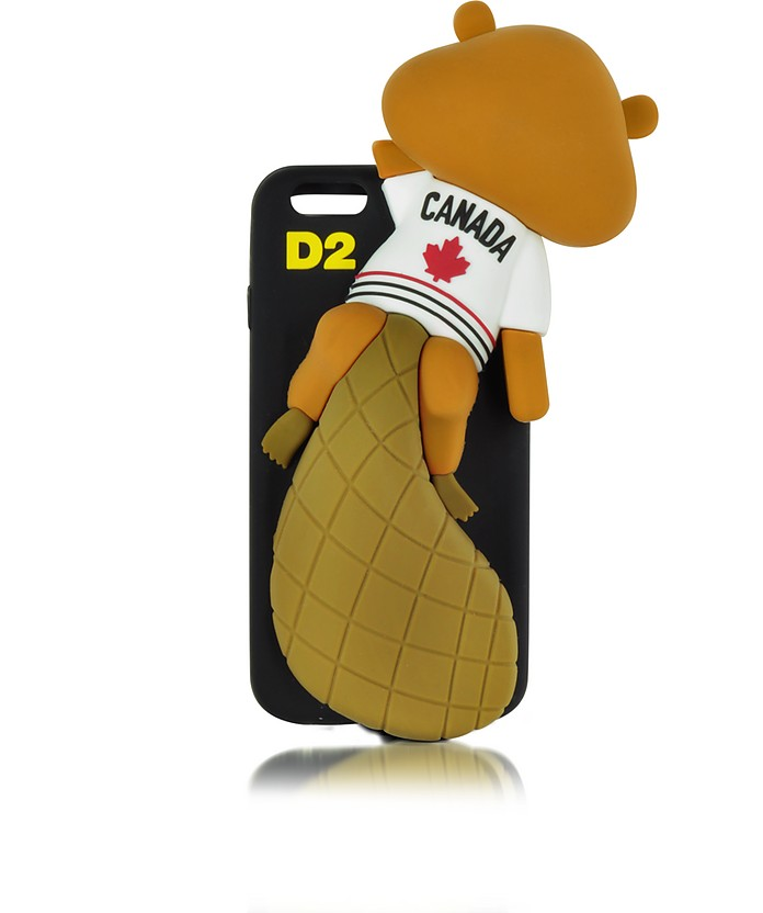 Black Silicone iPhone 6 Cover - DSquared