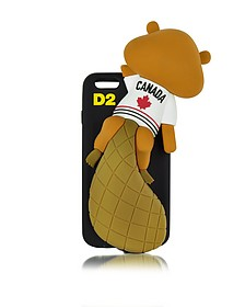 Black Silicone iPhone 6 Cover - DSquared2