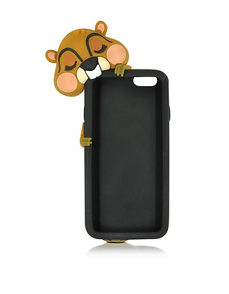 DSquared2 Black Silicone iPhone 7 Cover at FORZIERI