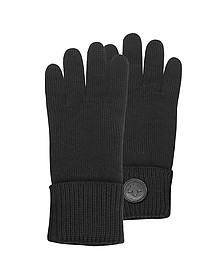 Cable Knit Wool Men's Gloves - DSquared2