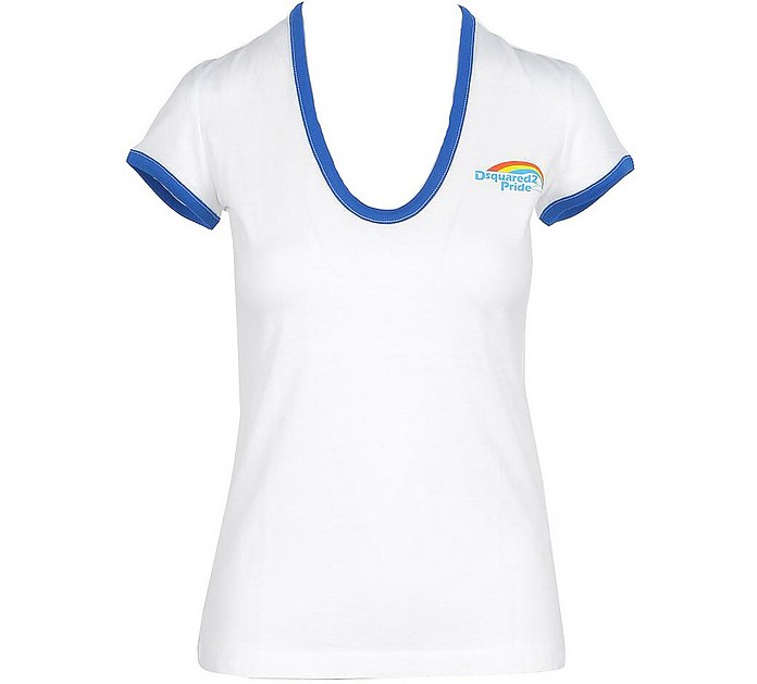 Women's White T-Shirt - DSquared2
