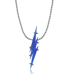 Blue Transparent Flash Necklace - DSquared2