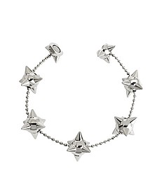 Pierce Me Palladium Armband aus Metall mit Stacheln - DSquared