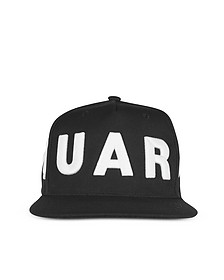 D2 Black and White Baseball Cap - DSquared2