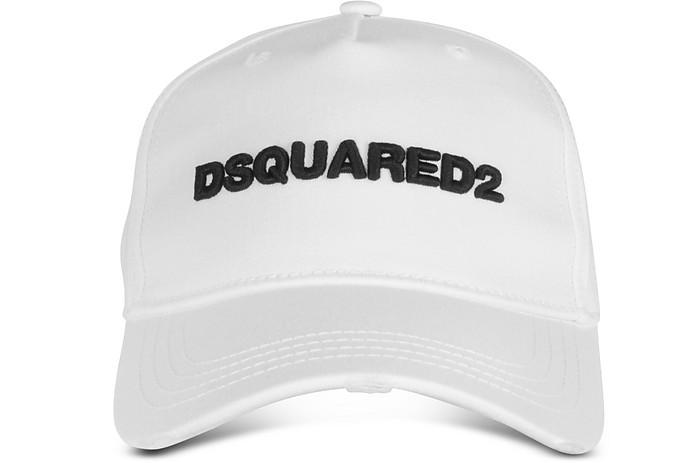 Embroidered Logo Gabardine Baseball Cap  - DSquared2