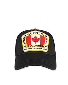 Black Signature Patch Baseball Cap - DSquared2