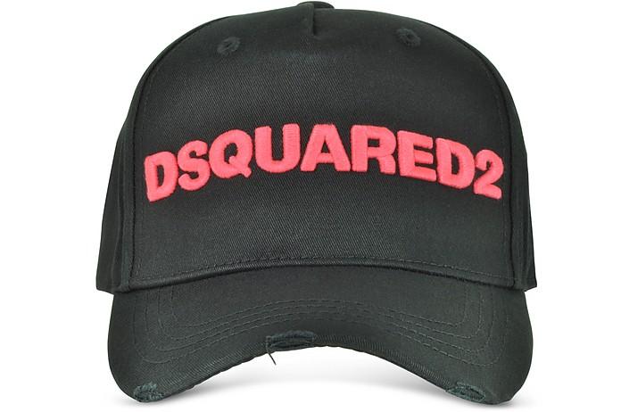 D2 Gabardine Cotton Baseball Cap - DSquared2