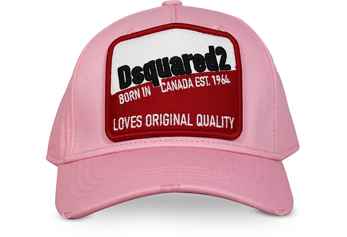 Cotton Gabardine Cotton Baseball Cap - DSquared