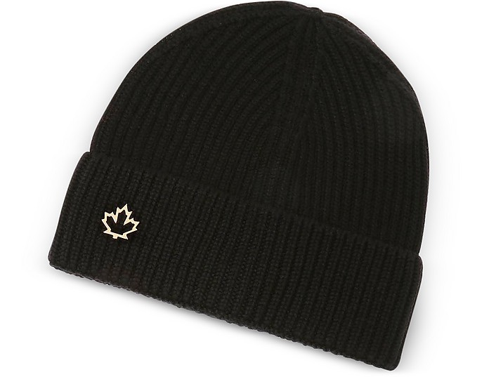 Solid Wool Women's Knit Hat - DSquared2