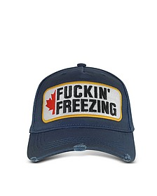 Fuckin' Freezing Patch Baseball Cap - DSquared