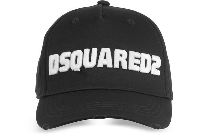 DSquared2 Gabardine Baseball Cap - DSquared2