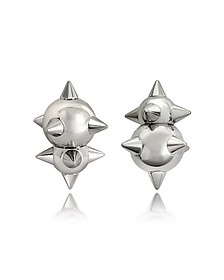Pierce Me Palladium Ohrringe aus Metall - DSquared