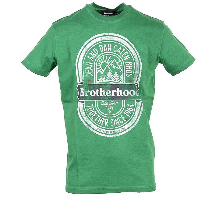 Bright Green Signature Men's T-Shirt - DSquared