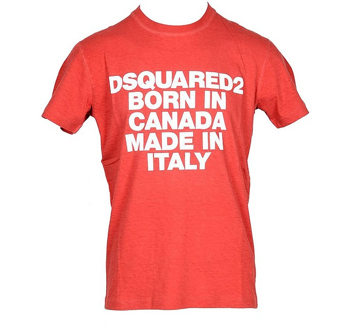 Men's Red T-Shirt - DSquared2