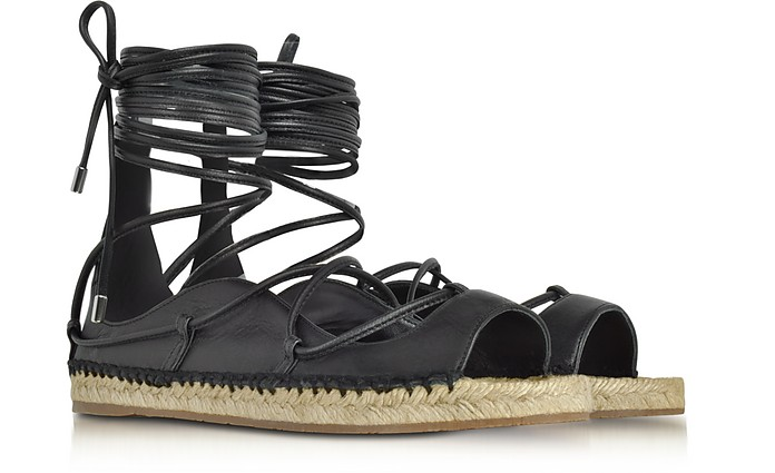 low price fee shipping sale online Dsquared2 lace-up espadrille sandals outlet with mastercard G39Ekn