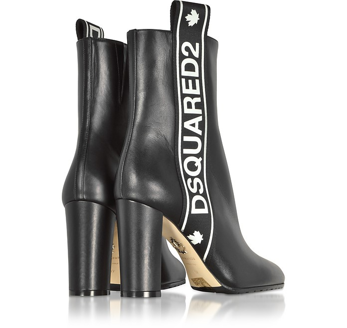 Dsquared2 Bronx Hip Hop Dsquared2 Tape Heeled Boots