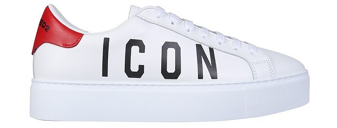 Sneaker With Logo - DSquared2