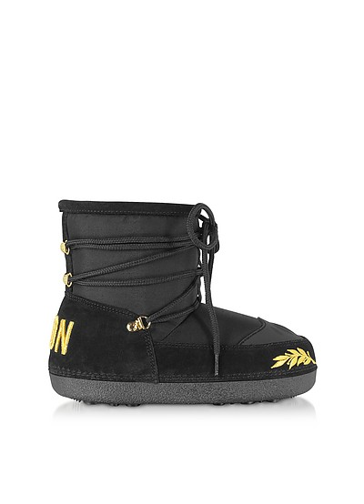 Icon Embroidered Snow Boots - DSquared2