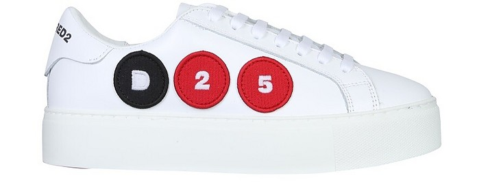 Sneakers With Logo Patch - DSquared