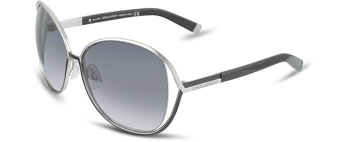 Signature Metal Square Frame Sunglasses - DSquared2