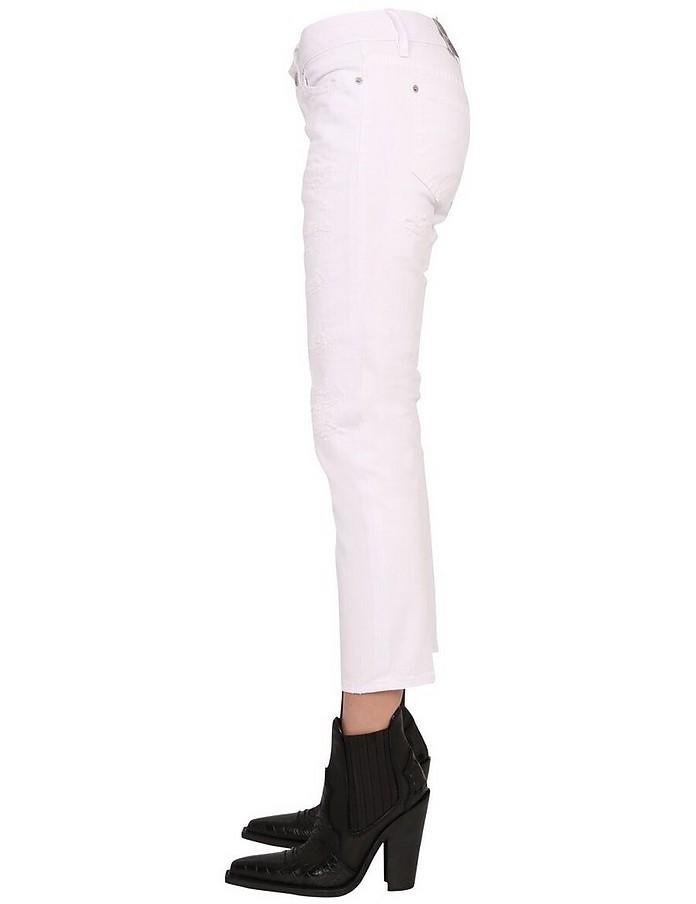 Jennifer Cropped Jeans - DSquared