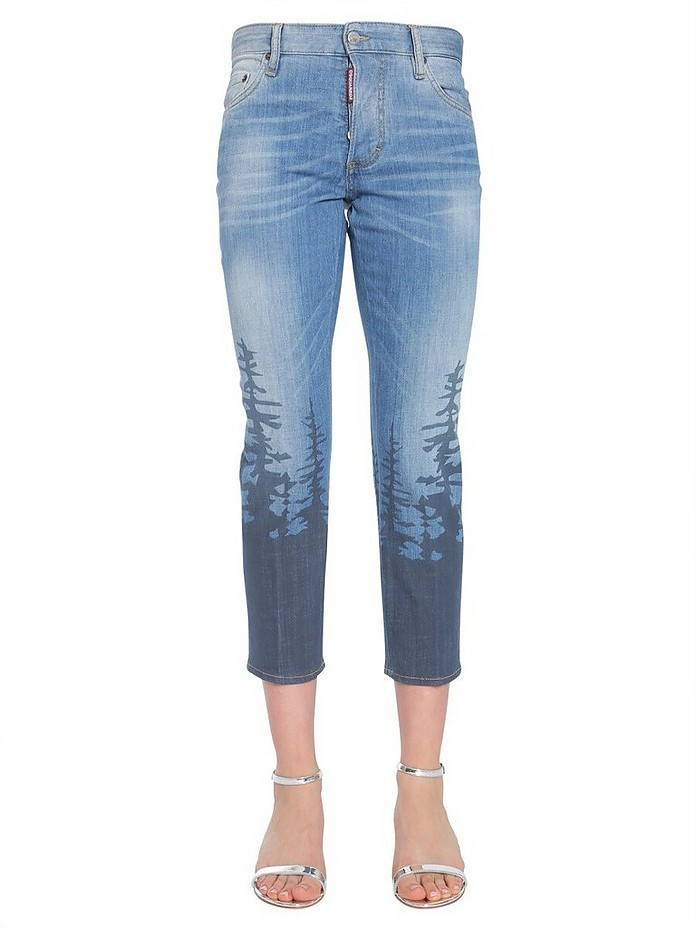 Boyfriend Fit Jeans - DSquared2