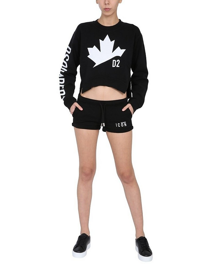 Shorts With Logo - DSquared