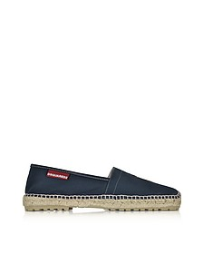 Boat Gray Canvas Espadrillas - DSquared2