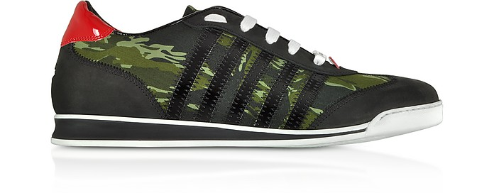 Camoulage Nylon Men's Sneakers - DSquared2