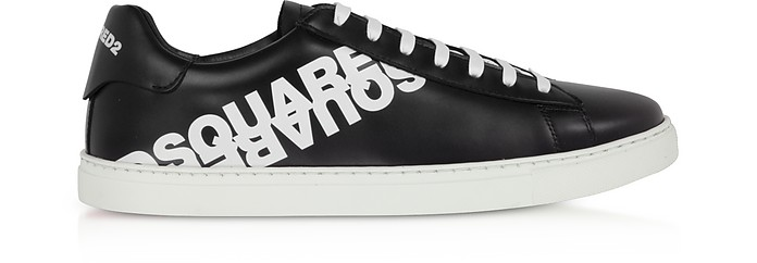 Calf Leather Low-Top Men's Sneakers - DSquared2