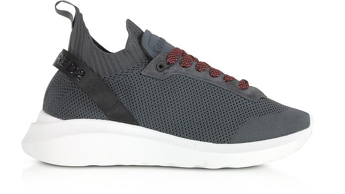 Dark Gray Neoprene Mesh Speedster Sneakers - DSquared2