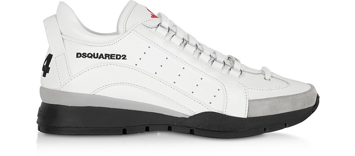 Sport  Leather Men's Sneakers - DSquared
