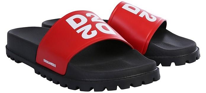 Logo Slide Sandals - DSquared2
