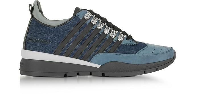 denim 251 sneakers - Blue Dsquared2 taHD5OZRwP