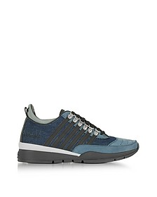 Washed Denim Men's 251 Sneakers - DSquared2