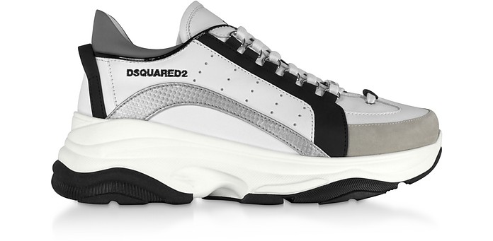 Gommato Leather  Men's Sneakers - DSquared2
