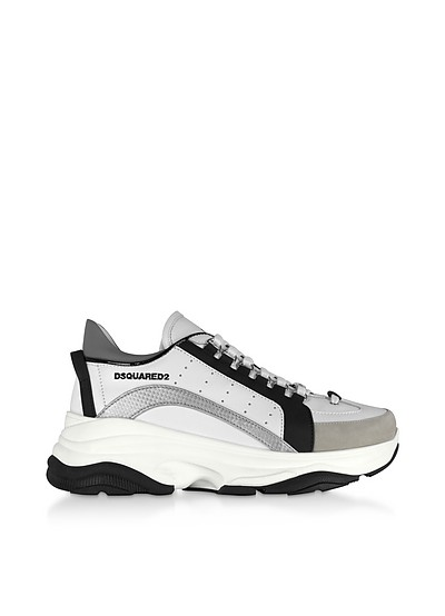 Gommato Leather  Men's Sneakers - DSquared2
